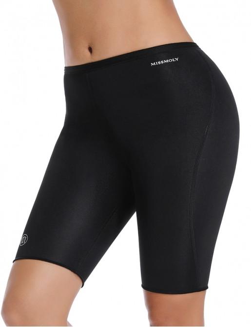 Neoprene Sweat Sauna Pants Slimming Thigh Leggings Tummy Control Capris