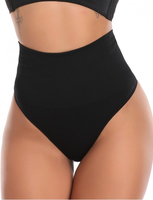 【 BEST SELLER  】Mid Waist ShapewearTummy Control Panty Slimming Brief Thong Underwear