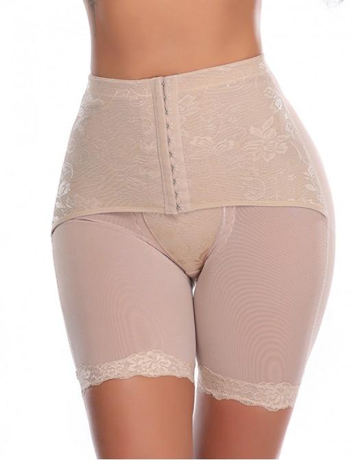 Mid-Waist Thigh shapewear Seamless Tummy Control Panty Butt Lifter Underwear