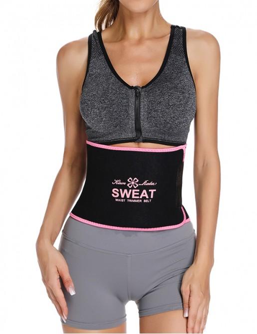 【 BEST SELLER 】Sweat Waist Trainer Belt Fat Burning Trimmer Weight Loss Body Shapewear